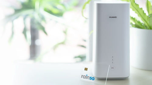 Huawei is an important tech partner for Rain.