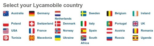Of the 24 countries Lycamobile operates in, three are in Africa.
