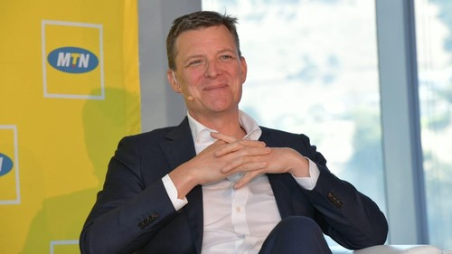 MTN Group President and CEO Rob Shuter