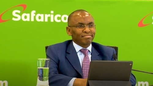 Safaricom's incoming CEO, Peter Ndegwa