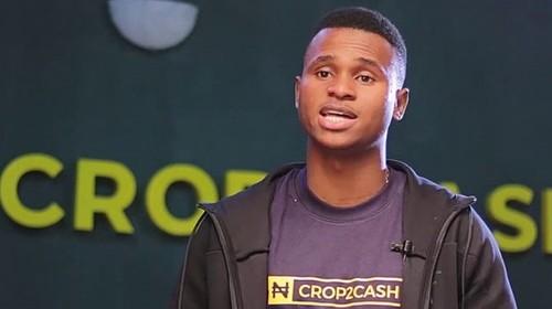 Crop2Cash's co-founder, Michael Ogundare