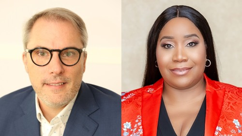 MTN's Stephen Blewett and Uche Ofodile are taking up new CEO roles for the group.