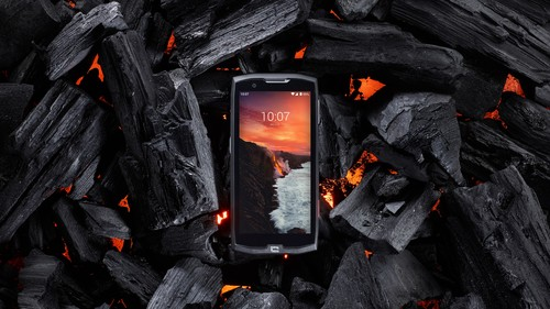 The CORE-X4 smartphone can withstand extreme temperatures.