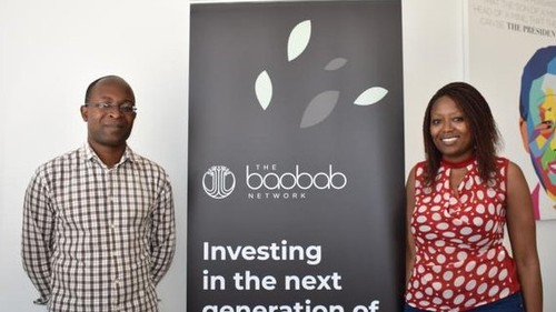 Dr CADx co-founders Gift Gana and Tatenda Madzorera.