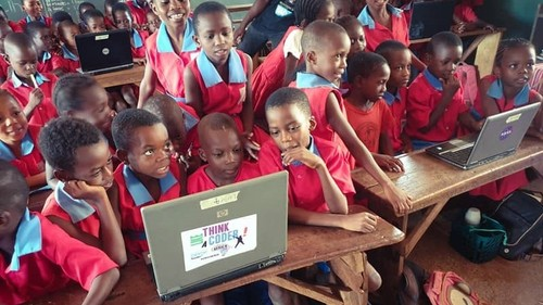 In 2019 over 3.85 million African youngsters took part in Africa Code Week