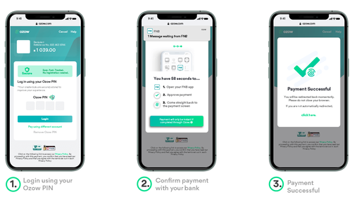 The Ozow PIN payment platform