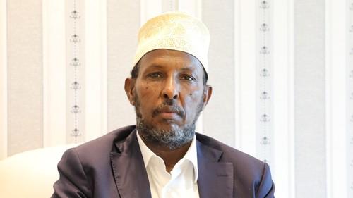Hormuud Telecom's CEO, Ahmed Mohamud Yuusuf