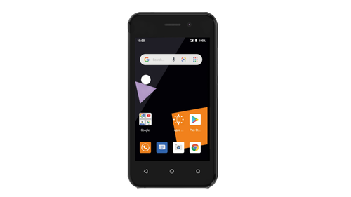 The Sanza touch 4G smartphone will launch in most of Orange's African markets.  (Image courtesy of Orange)
