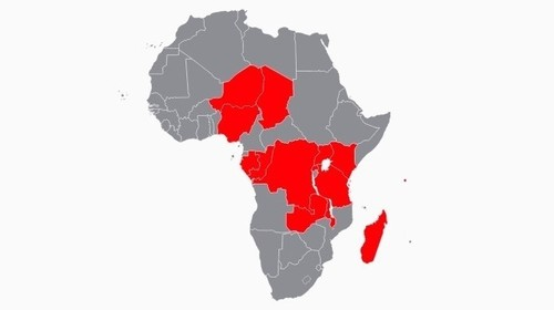 Airtel's 14 operations in Africa