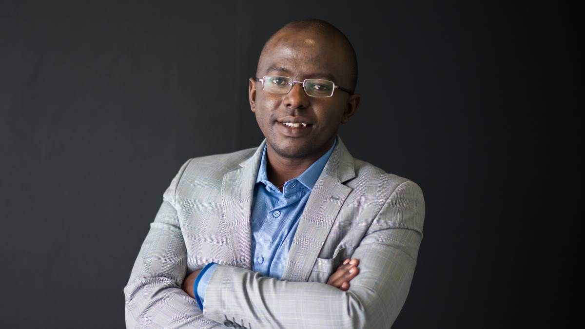 Kenyan cloud expert Phares Kariuki