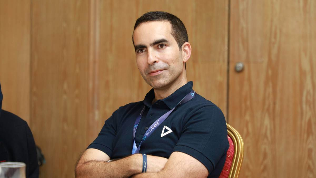InstaDeep CEO Karim Beguir.