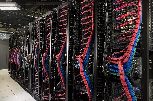 An IBM data center. (Source: IBM)