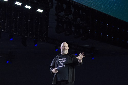 Werner Against the Machine (Source: AWS)