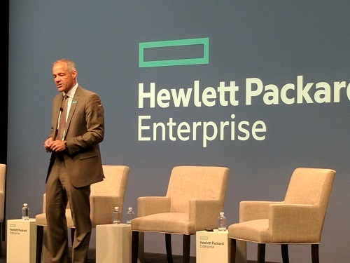 Ric Lewis, SVP and GM of HPE's Software-Defined and Cloud Group,