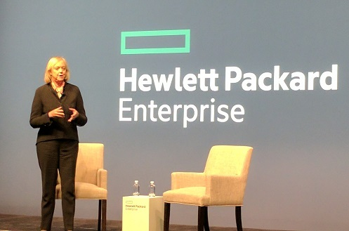 CEO Meg Whitman at Discover (Source: ECN)