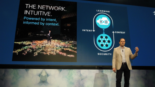 Cisco CEO Chuck Robbins declares the dawn of the era of intent-based networking.