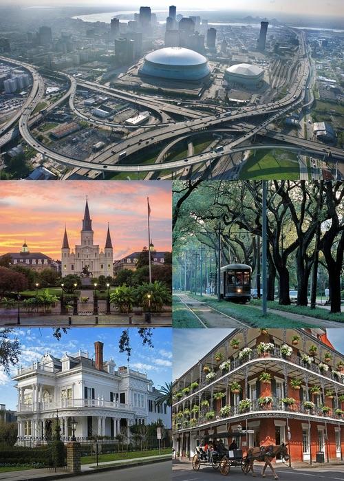New Orleans, Louisiana, street scenes. By Nowhereman86 (Own work) [CC BY-SA 3.0], via Wikimedia Commons