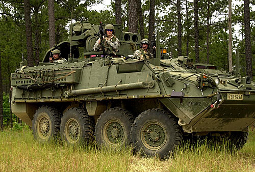 US Army's Stryker is the next IoT challenge