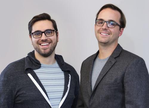 Manifold's Matt Creager (l) and Jevon MacDonald.