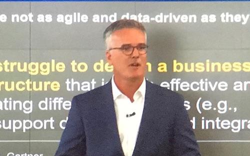 SAP's Greg McStravick.