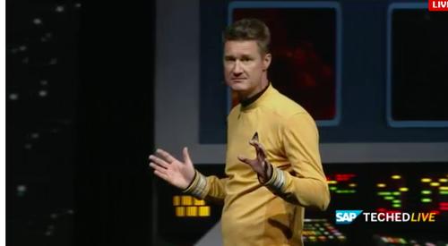 SAP'S Bjorn Goerke, a big nerd.