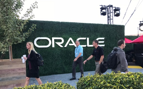 Oracle OpenWorld Monday.