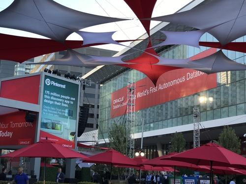 Oracle OpenWorld this week.