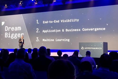 AppDynamics CEO David Wadhwani speaking in NYC (Source: ECN )