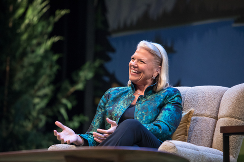 IBM's Ginni Rometty. Photo by Salesforce