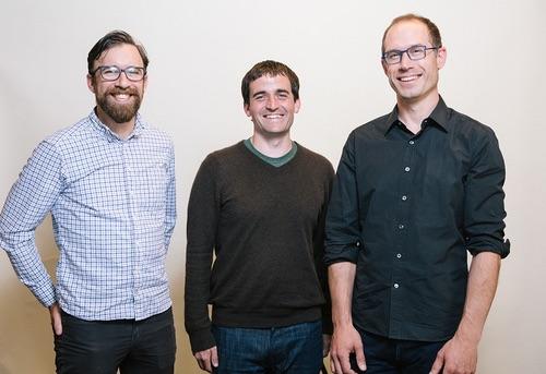 LightStep founders Ben Sigelman, Ben Cronin and Daniel 'spoons'  Spoonhower.