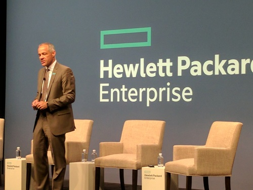 Ric Lewis, SVP and GM HPE's Software-Defined and Cloud Group