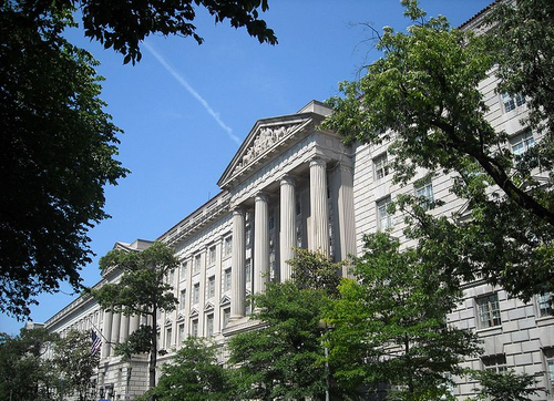Commerce Department  (Photo by AgnosticPreachersKid (Own work) [CC BY-SA 3.0], via Wikimedia Commons)