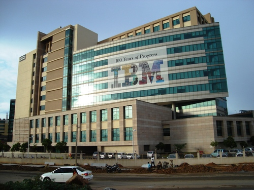 IBM India building in Bangalore.