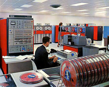 IBM System/360 Model 50, announced in 1964. Photo by IBM, from a gallery of historical mainframe photos.