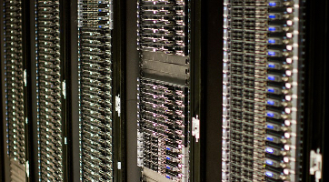 Servers. Photo by Victorgrigas (CC BY-SA 3.0)