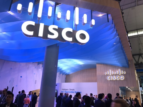 Cisco at Mobile World Congress 2018.