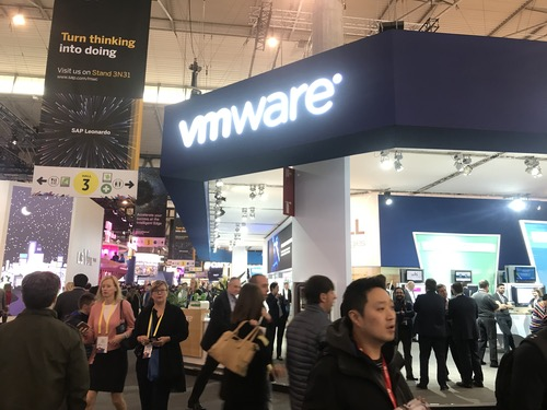 VMware at Mobile World Congress last week.