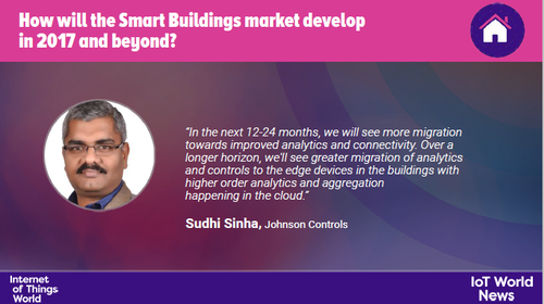 Sudhi Sinha makes his predictions for the development of the smart buildings market.