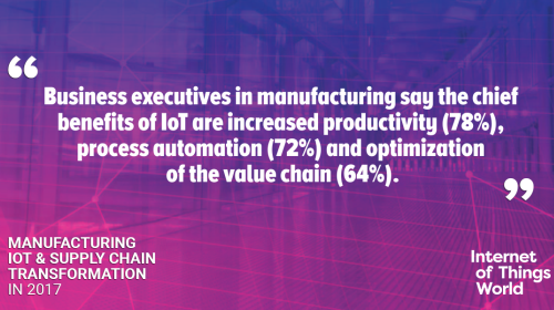 Discover more with our Manufacturing & Supply Chain IoT Report >>.