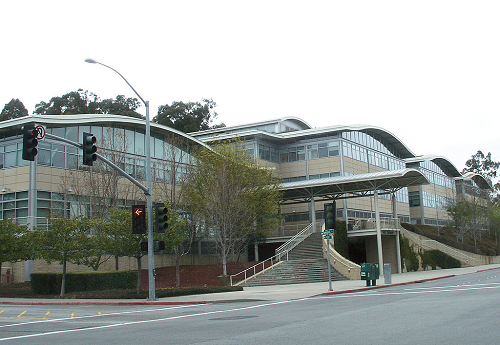 YouTube's headquarters in San Bruno, Calif.