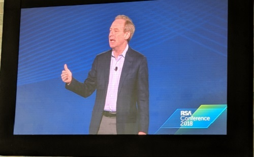 Microsoft's Brad Smith at RSA 2018
