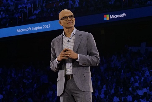 Microsoft CEO and lover of open source Satya Nadella