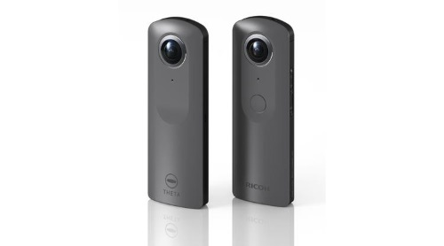 Ricoh's new 360 degrees  camera, in the Theta line.