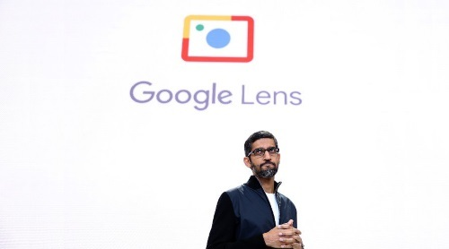 Google CEO Sundar Pichai, seen here at Google I/O 2017, has repositioned the company as 'AI-first'.