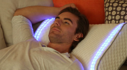 The Sunrise Smart Pillow can track your sleep, features omnidirectional speakers and LEDs. Sleep is important, so this is good. But many are not going to be prepared to pay $299 for the luxury of sleep tracking, when an app can do it for free.