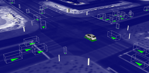 Waymo trains its cars in a piece of software it has developed, named Carcraft. Image: Waymo