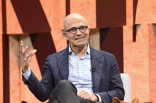 Microsoft CEO Satya Nadella believes AI can create new jobs.