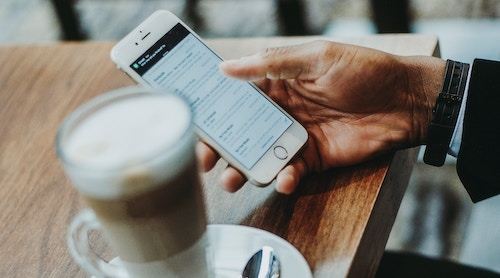 Banking is increasingly going digital as people do more and more on mobile devices. Image: Anete Lūsiņa, Unsplash