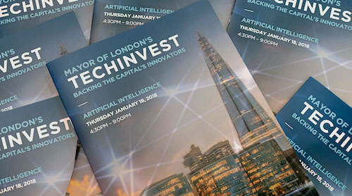 There will be further TechInvest events throughout the year, with the next one in March focusing on augmented and virtual reality startups.