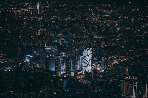 Cities are becoming smart cities as tech is injected into them, but can the decades or centuries old infrastructure cope? (Image: Raj Eiamworakul, Unsplash)